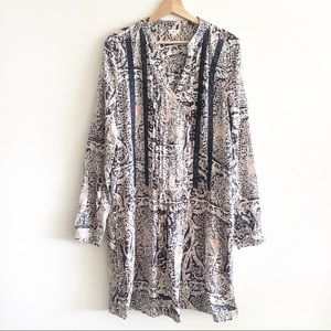 Anthropologie Tiny Caviana Shirt Dress